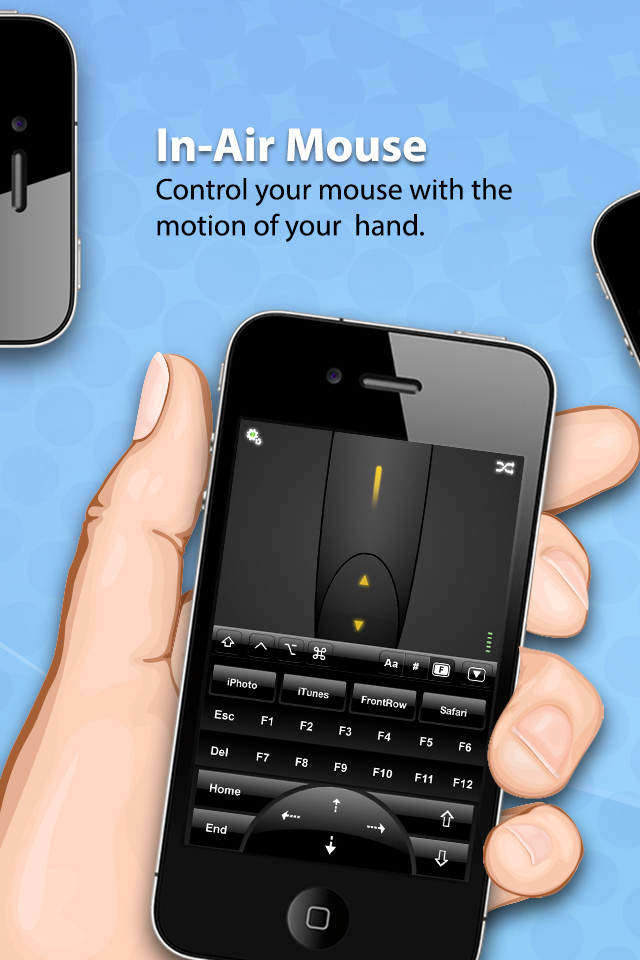 Mobile Mouse (Remote/Mouse/Trackpad/Keyboard) vs EyeCam for iPhone. Before
